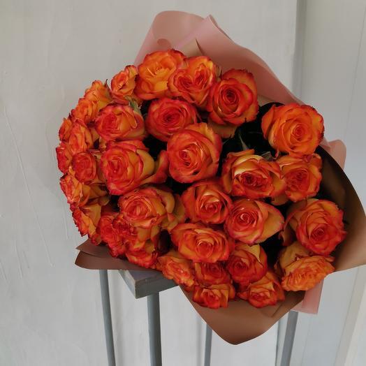 Монобукет Эквадорских роз