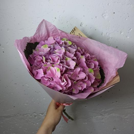 Гортензия в букете: букеты цветов на заказ Flowwow