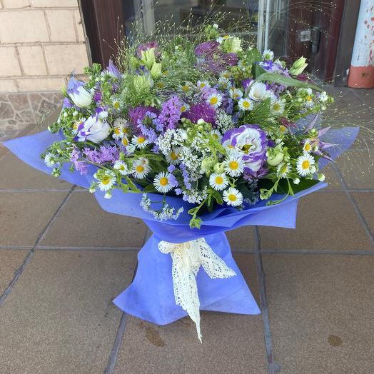 Лавандовые грезы: букеты цветов на заказ Flowwow