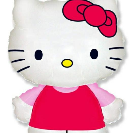 Шар HELLO KITTY