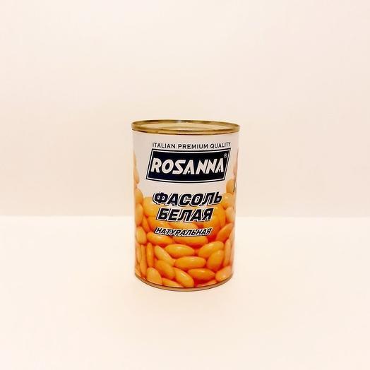 Rosanna фасоль белая  Натуральная  400 гр