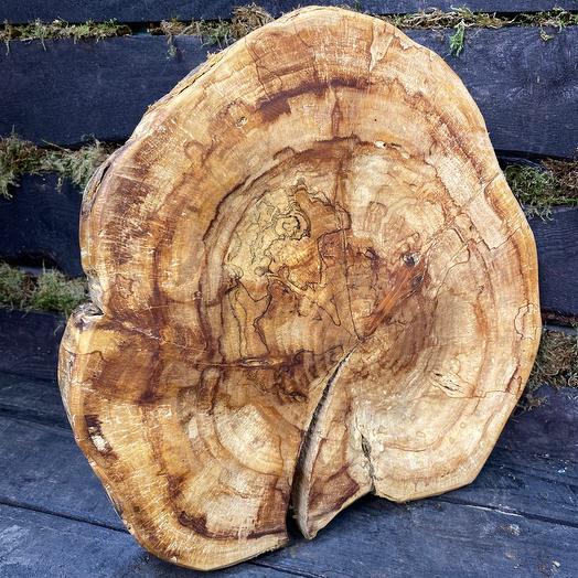 Подставка из дерева. Яблоня