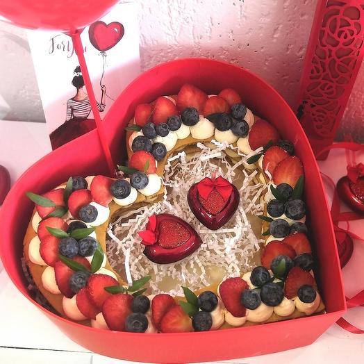 """Торт """" Влюбленное Сердце"""""""