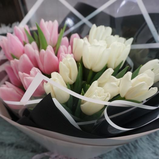 Тюльпан нежный