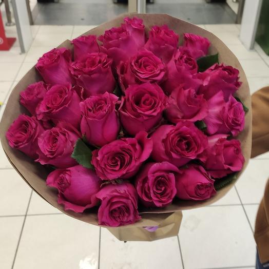 Розы фуксия