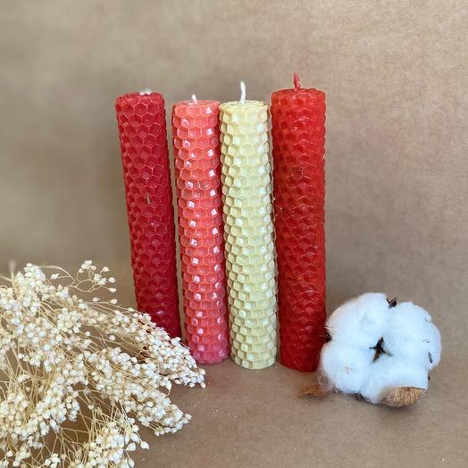 Набор авторских свечей «Жгучая страсть»