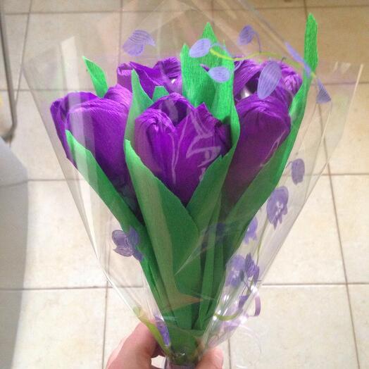 Тюльпаны-рафаэлло