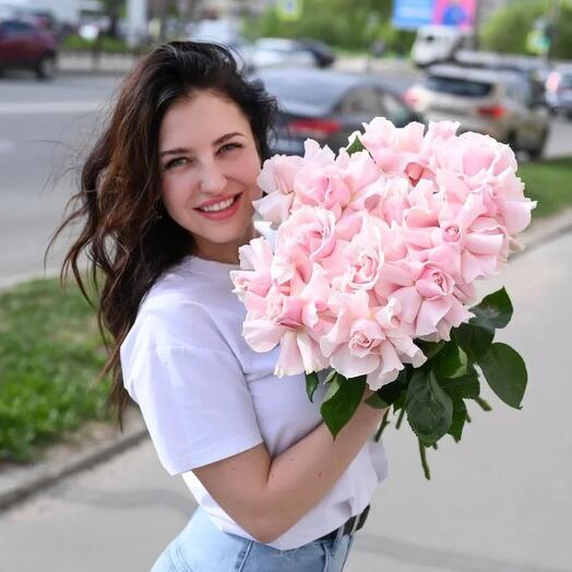 Моно из французских роз