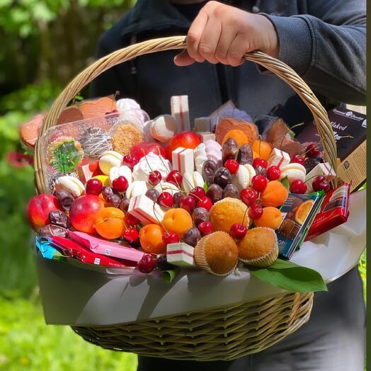 Вкусный пикник!🌞🎁😍