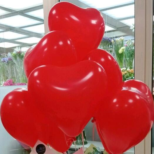 Воздушные шары. ️ Сердца