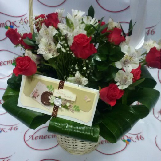 Вау корзина: букеты цветов на заказ Flowwow