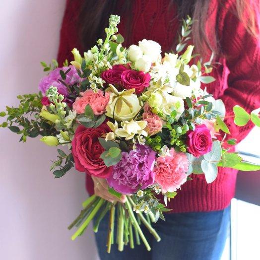 Чувственный винтаж: букеты цветов на заказ Flowwow