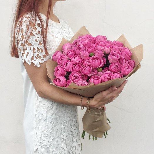 Пионовидные розы Мисти Баблс