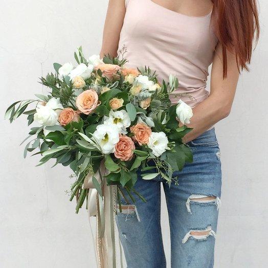 Букет Бохо: букеты цветов на заказ Flowwow