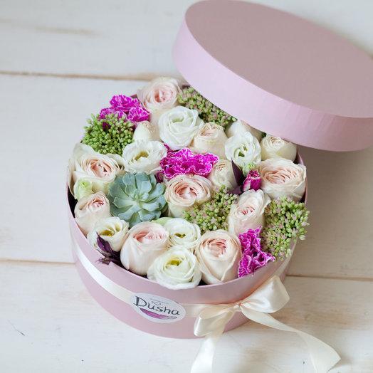 Цветочная коробочка Шарм