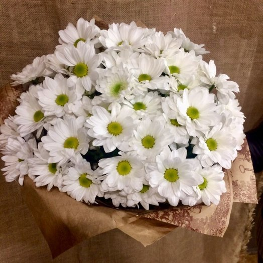 "Букет ""Ромашка"": букеты цветов на заказ Flowwow"