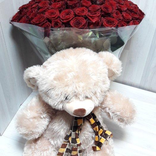 Дуэт любви: букеты цветов на заказ Flowwow