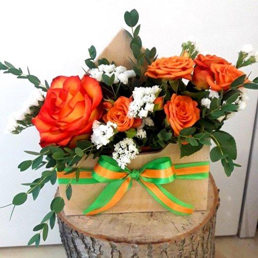 Письмо внимания!: букеты цветов на заказ Flowwow