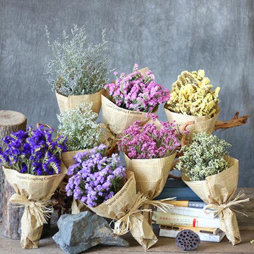 """Букет статица - лимониум """"МИКС"""": букеты цветов на заказ Flowwow"""