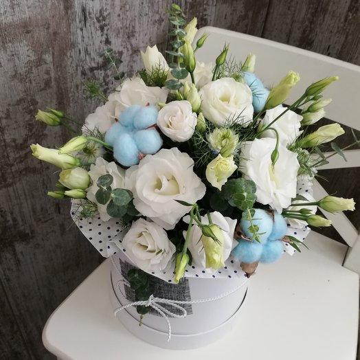 Лазурные небеса: букеты цветов на заказ Flowwow