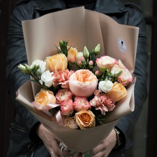 Bouquet ✿ with peony rose