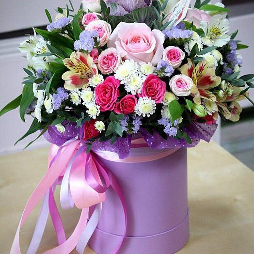 "Композиция ""Летняя ночь"": букеты цветов на заказ Flowwow"