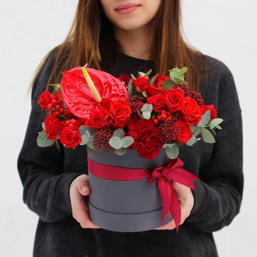 Бокс 11: букеты цветов на заказ Flowwow