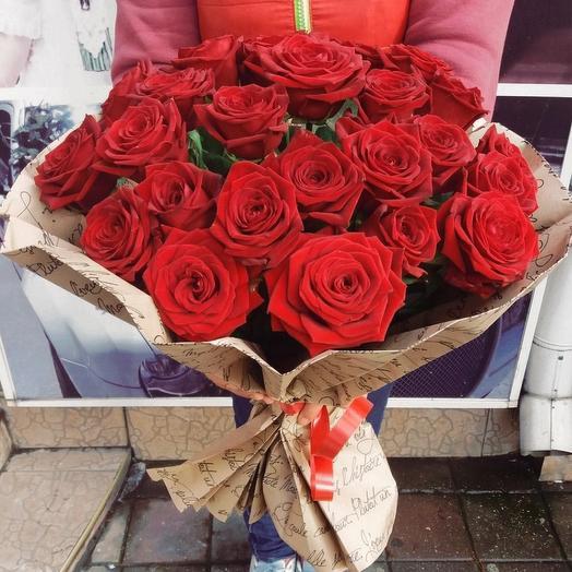 Букет из 25-ти роз