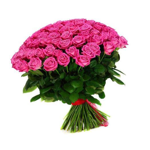 Розы розовые РЕВИВАЛЬ: букеты цветов на заказ Flowwow