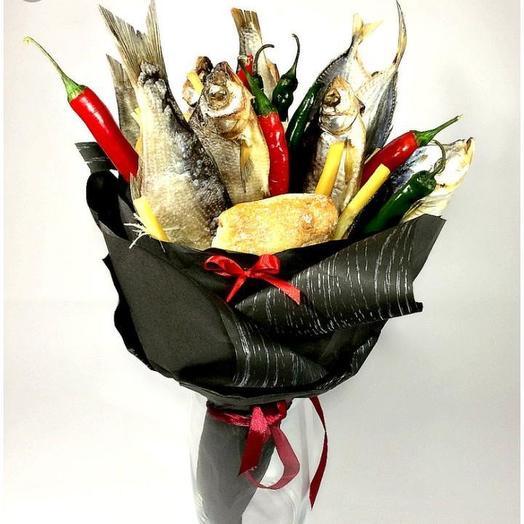 Букет из рыбы «Речной»: букеты цветов на заказ Flowwow