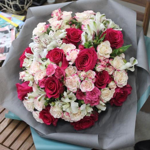 Букет XL. Premium: букеты цветов на заказ Flowwow