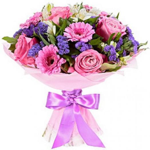 Яркая поляна: букеты цветов на заказ Flowwow