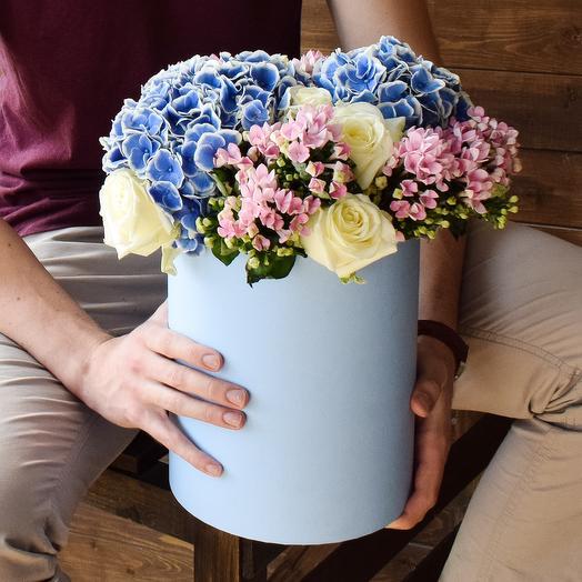 Коробочка 3 Medium: букеты цветов на заказ Flowwow