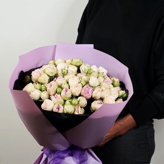 Сиреневый кулёк: букеты цветов на заказ Flowwow