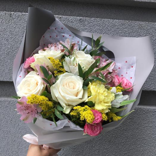 Букет 2163: букеты цветов на заказ Flowwow