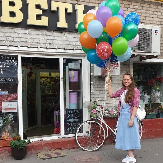 Воздушные шары др: букеты цветов на заказ Flowwow