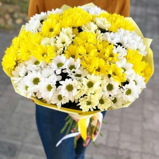 """Букет """"Ромашковое поле"""": букеты цветов на заказ Flowwow"""