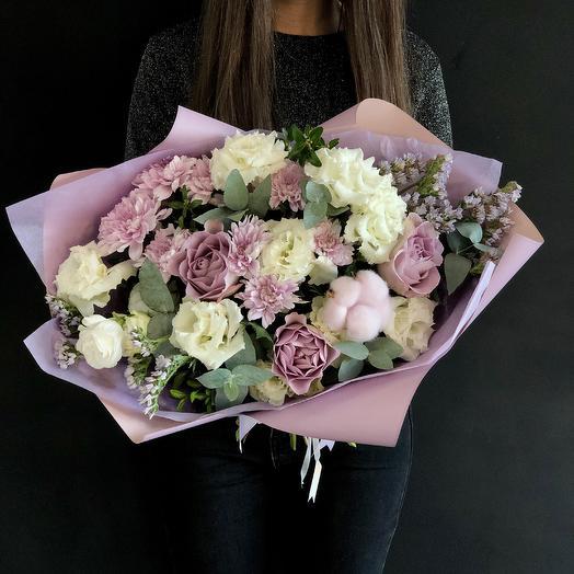 Весенняя нежность: букеты цветов на заказ Flowwow