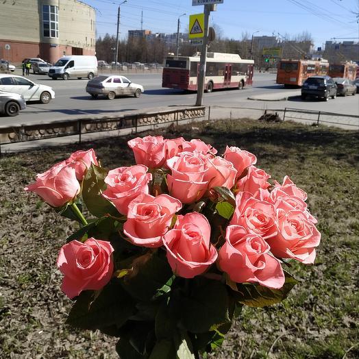 Букет роз ( 50см): букеты цветов на заказ Flowwow