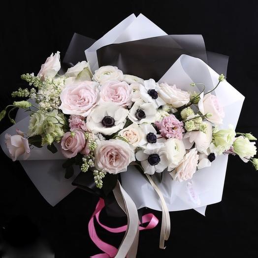 Модный Букет «Лучшей на свете!»: букеты цветов на заказ Flowwow