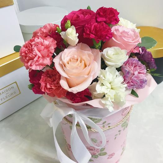 Коробочка микс: букеты цветов на заказ Flowwow