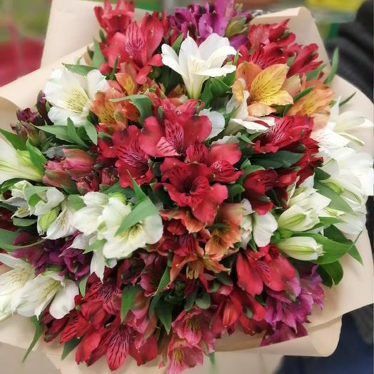 25 альстромерия: букеты цветов на заказ Flowwow