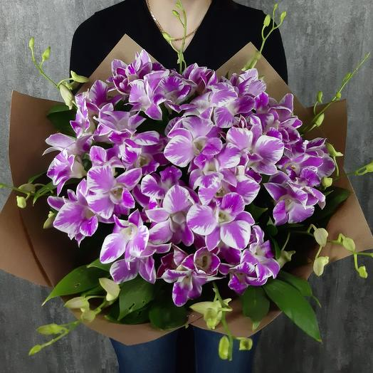 Лиловые бабочки: букеты цветов на заказ Flowwow