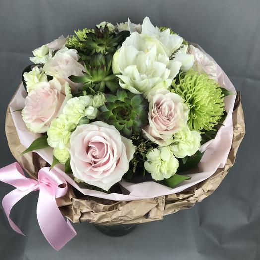 Нежная зефира: букеты цветов на заказ Flowwow