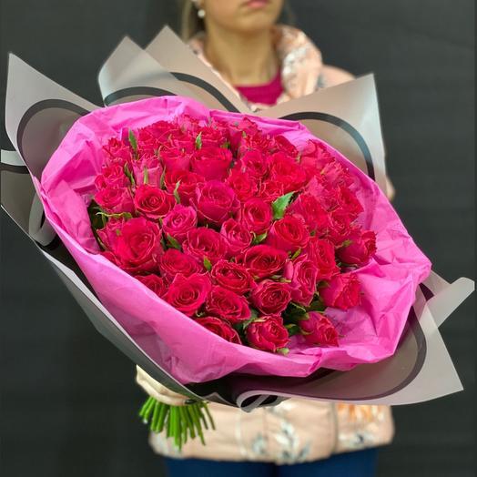 Малиновый зефир: букеты цветов на заказ Flowwow