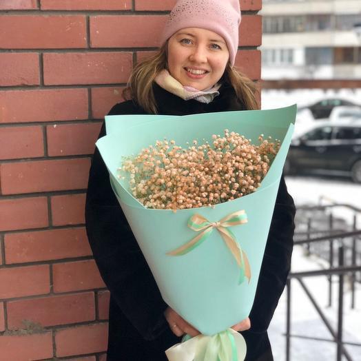Персиковый рай🧡: букеты цветов на заказ Flowwow