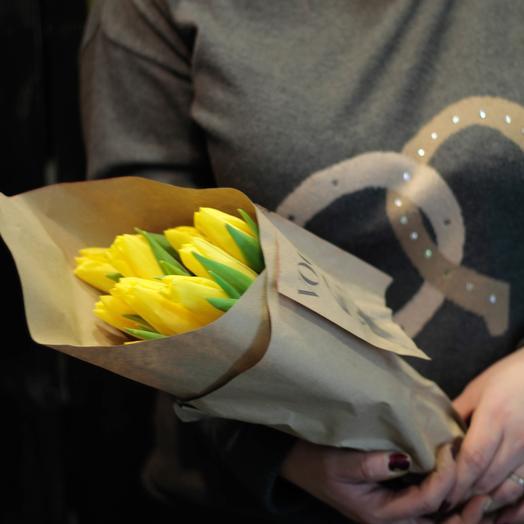 Желтые тюльпаны 11