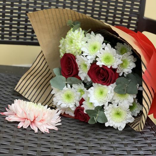 Цветочная морда: букеты цветов на заказ Flowwow