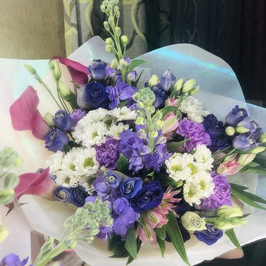 Ароматный сборный букет: букеты цветов на заказ Flowwow