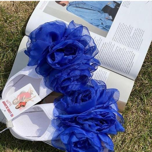 Кеды с цветами: букеты цветов на заказ Flowwow